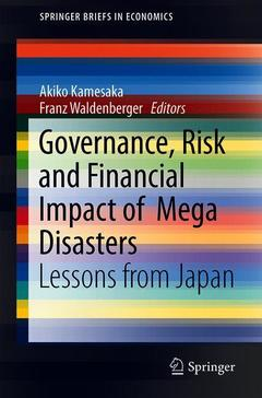Couverture de l'ouvrage Governance, Risk and Financial Impact of Mega Disasters