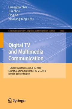 Couverture de l'ouvrage Digital TV and Multimedia Communication