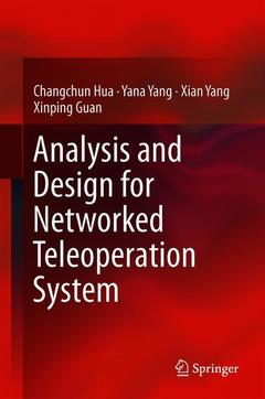 Cover of the book Analysis and Design for Networked Teleoperation System