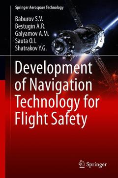Couverture de l'ouvrage Development of Navigation Technology for Flight Safety