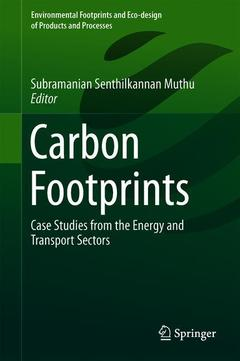 Cover of the book Carbon Footprints