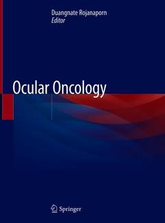 Couverture de l'ouvrage Ocular Oncology