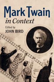 Couverture de l'ouvrage Mark Twain In Context