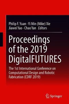 Cover of the book Proceedings of the 2019 DigitalFUTURES