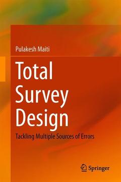 Couverture de l'ouvrage Total Survey Design