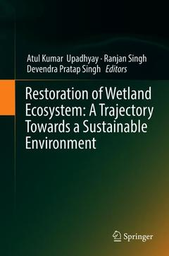 Cover of the book Restoration of Wetland Ecosystem: A Trajectory Towards a Sustainable Environment