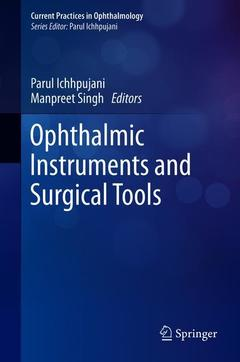 Couverture de l'ouvrage Ophthalmic Instruments and Surgical Tools