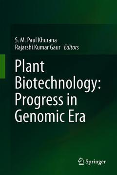 Cover of the book Plant Biotechnology: Progress in Genomic Era
