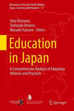 Couverture de l'ouvrage Education in Japan