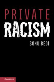 Couverture de l'ouvrage Private Racism