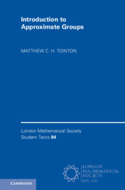 Cover of the book Introduction to Approximate Groups