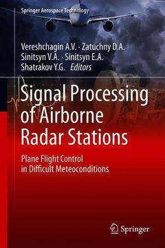 Couverture de l'ouvrage Signal Processing of Airborne Radar Stations