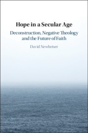 Couverture de l'ouvrage Hope in a Secular Age