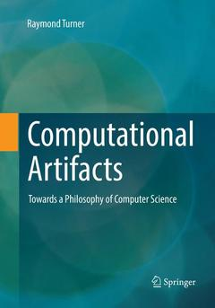 Cover of the book Computational Artifacts
