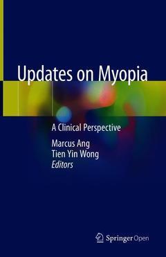 Couverture de l'ouvrage Updates on Myopia