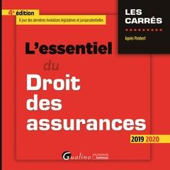 Couverture de l'ouvrage L'essentiel du droit des assurances  - 4eme edition