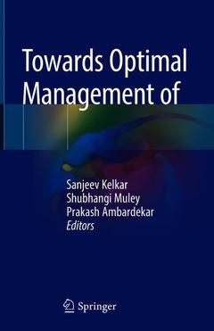 Cover of the book Towards Optimal Management of Diabetes in Surgery