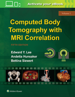 Couverture de l'ouvrage Computed Body Tomography with MRI Correlation