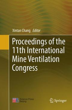 Cover of the book Proceedings of the 11th International Mine Ventilation Congress