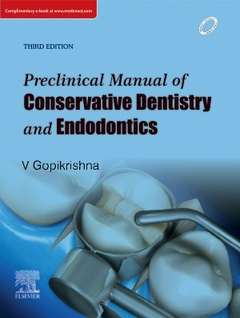 Cover of the book Preclinical Manual of Conservative Dentistry and Endodontics