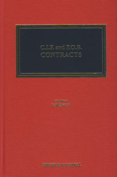 Cover of the book CIF and FOB contracts