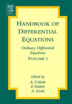 Couverture de l'ouvrage Handbook of Differential Equations: Ordinary Differential Equations