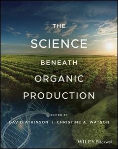 Couverture de l'ouvrage The Science Beneath Organic Production