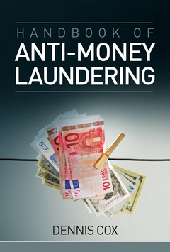 Cover of the book Handbook of anti-money laundering