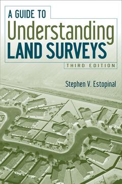 Couverture de l'ouvrage A guide to understanding land surveys, 3rd edition