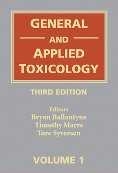 Cover of the book General & applied toxicology (6 Volume set)