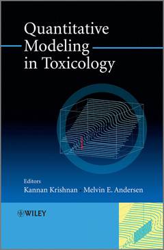 Cover of the book Quantitative modeling in toxicology