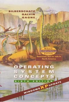 Couverture de l'ouvrage Operating System Concepts (Windows XP Update)
