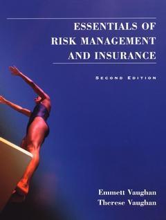 Couverture de l'ouvrage Essentials of risk management and insurance