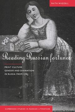 Cover of the book Reading russian fortunes: print culture, gender and divination in russia from 1765