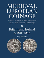 Couverture de l'ouvrage Medieval european coinage volume 6 the british isles