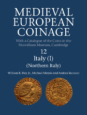 Cover of the book Medieval european coinage volume 9 italy