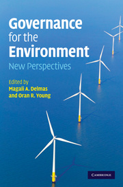 Couverture de l'ouvrage Governing the environment: new perspectives