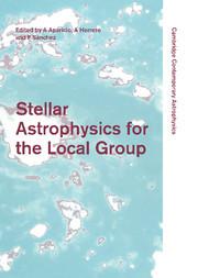 Couverture de l'ouvrage Stellar astrophysics for the local group