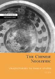 Couverture de l'ouvrage The chinese neolithic trajectories to early states