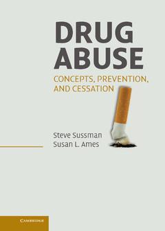 Couverture de l'ouvrage Drug abuse: concepts, prevention, and cessation