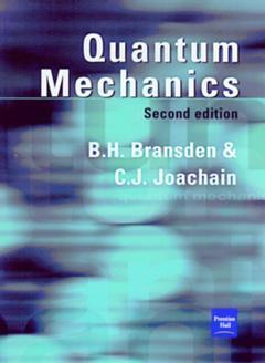 Couverture de l'ouvrage Quantum mechanics