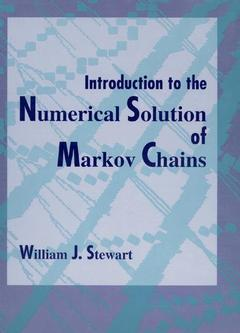Couverture de l'ouvrage Introduction to the numerical solution of Markov chains