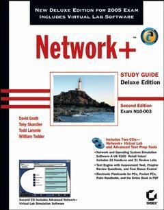Couverture de l'ouvrage Network+ Study Guide (2nd de luxe Ed.)