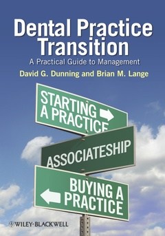 Cover of the book Dental practice transition: a practical guide to management