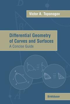 Couverture de l'ouvrage Differential geometry of curves & surfac es