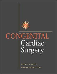 Cover of the book Congenital cardiac surgery