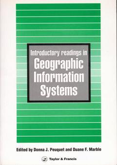 Cover of the book Introductory readings in geographic information systems (Paper)