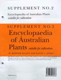 Cover of the book Encyclopedia of australian plants Supplement 2