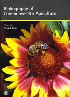 Cover of the book Bibliography of Commonwealth Apiculture