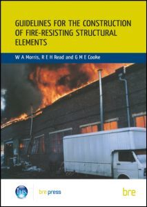 Cover of the book Guidelines for the Construction of Fire-Resisting Structural Elements